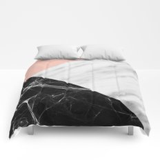 Marble Collage Comforters