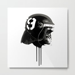 Monky Race Metal Print