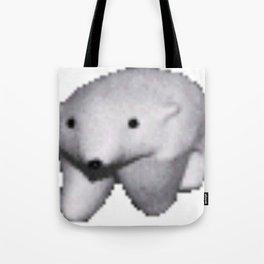 Polar Bear Meme Tote Bag