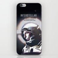 interstellar iPhone & iPod Skins featuring interstellar by Saalk