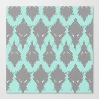 persian Canvas Prints featuring Persian Textile by Nahal