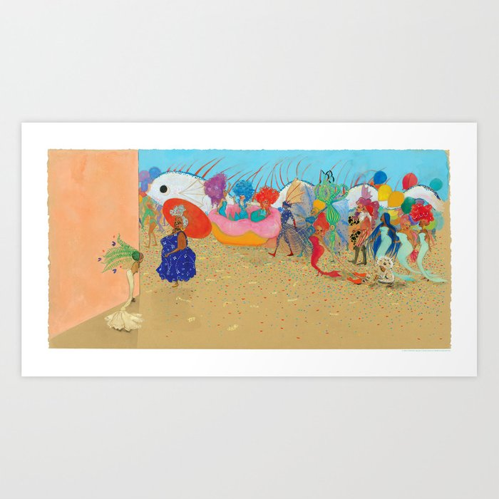Let's Join Them Art Print