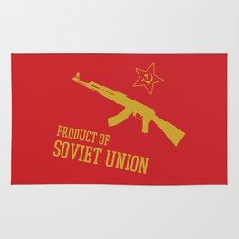 AK-47 (Product of SOVIET UNION) Rug