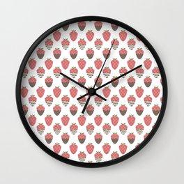 Strawberry indulgence  Wall Clock