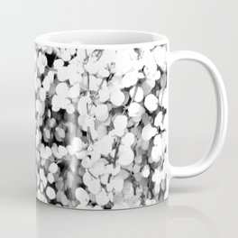 Flower | Flowers | Leaves | White Leaf Vine Coffee Mug