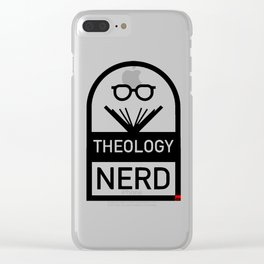 Nerd Clear iPhone Case