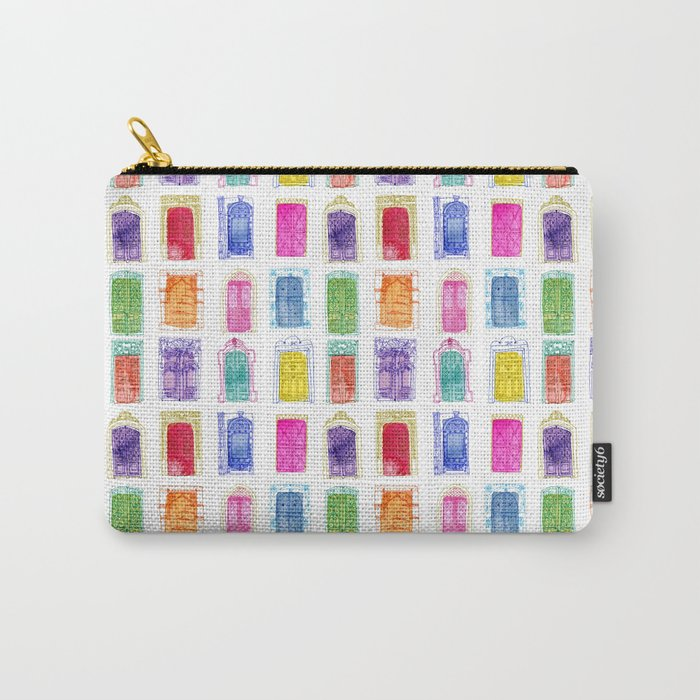 Doors of the World Carry-All Pouch