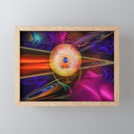Abstract in perfection -Meditation Framed Mini Art Print