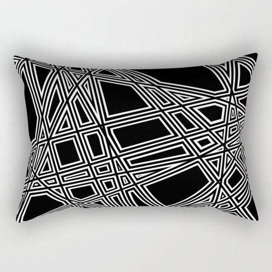 To The Edge #4 Rectangular Pillow