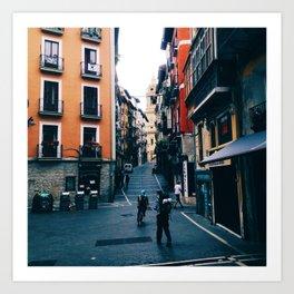 Plaza de Castillo Art Print