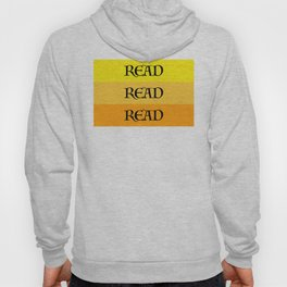 READ READ READ {YELLOW} Hoody