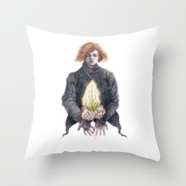 Secondhand Emotions Throw Pillow