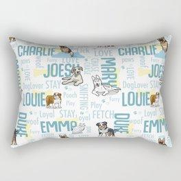 demmmm Rectangular Pillow