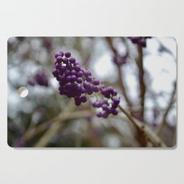 More Purpleberries Cutting Board