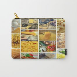 Collage Pasta food Carry-All Pouch