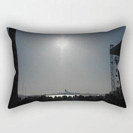 Ship Show View Rectangular Pillow