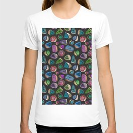 Geodes in Jewel Tones T-shirt
