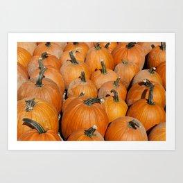 Pumpkin Fest Art Print