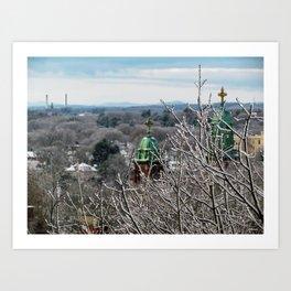 Frozen Portland, Maine (1) Art Print