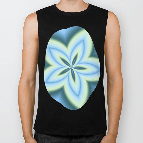 String Art Flower in MWY 01 Biker Tank