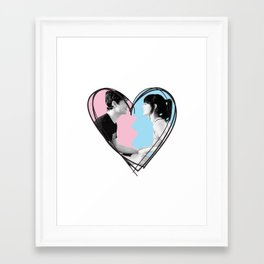 Summer Effect Framed Art Print