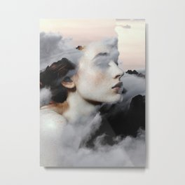 Among The Clouds Metal Print
