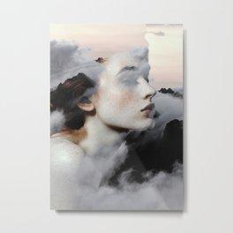 Among The Clouds Metal Print