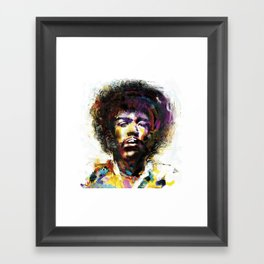 Jimy Framed Art Print