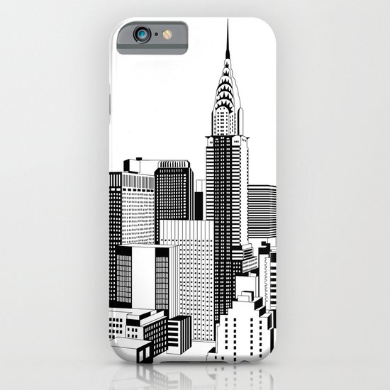 New York Black and White 2 iPhone & iPod Case