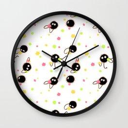 Soot Sprites Wall Clock