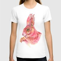 squirrel T-shirts featuring The squirrel magic  by Ola Liola
