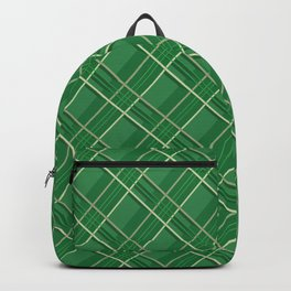 3D Abstract BG X 2 Backpack
