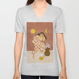 Daydreaming about 70s Unisex V-Neck
