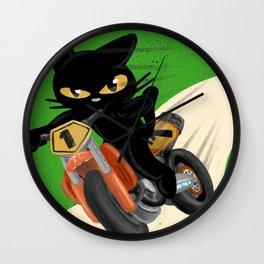 Top rider Wall Clock