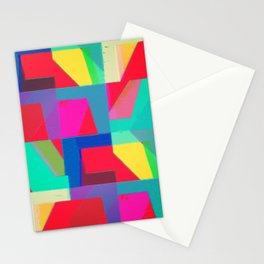 Colorful Truth. Red Stationery Cards