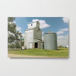 Feed Mill in S. Dakota Metal Print