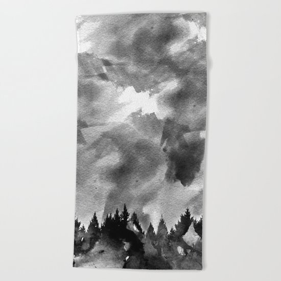 The Black Forest Beach Towel