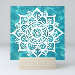 Water Mandala Mini Art Print