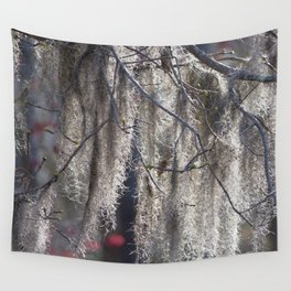 Watercolor Moss, Spanish Moss 02, Merchants Millpond, North Carolina Wall Tapestry