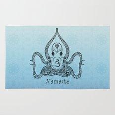 Paisley Yoga Octopus Namaste Rug