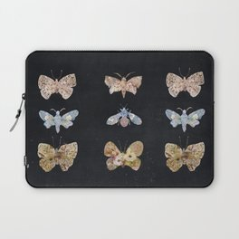 Floral Moths Laptop Sleeve