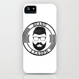 Beard leader iPhone Case