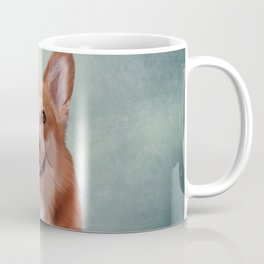 Drawing Dog breed Welsh Corgi portrait Coffee Mug