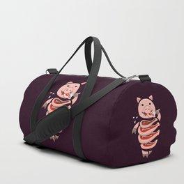 Gluttonous Cannibal Pig Duffle Bag