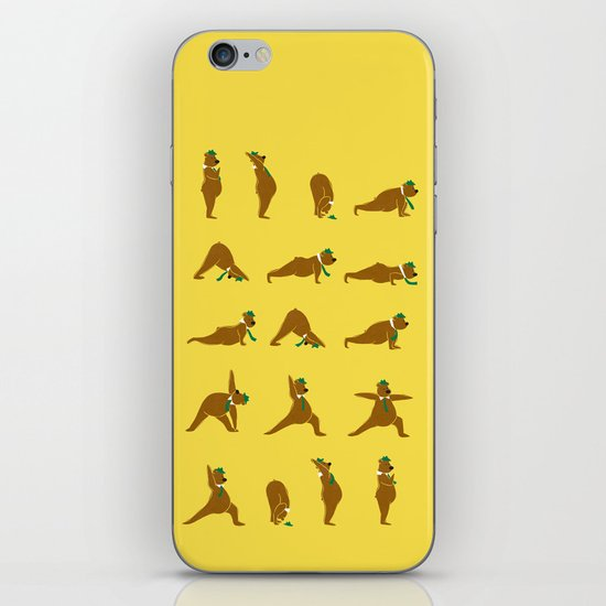Yoga Bear - Classic iPhone & iPod Skin