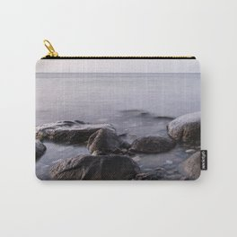 Stones in Sea Carry-All Pouch