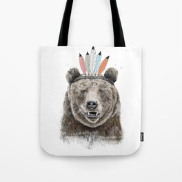 Festival bear Tote Bag