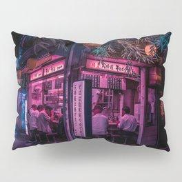 Ramen Corner in Tokyo Pillow Sham