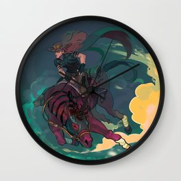 Jojo's Bizarre Adventure Steel Ball Run - Gyro Zeppeli Wall Clock