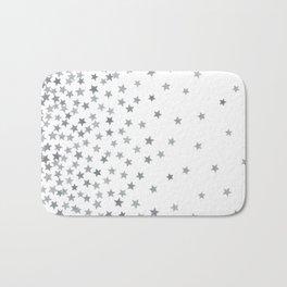 STARS SILVER Bath Mat